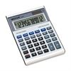 "6500 Loan Wizard Desktop Calculator - Independent Memory - 12 Digits - Battery/Solar Powered - 1.8"" x 5.8"" x 7.9"" - Silver - Plastic - 1 Each"