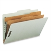 "Smead 100% Recycled Pressboard Colored Classification Folders - Legal - 8 1/2"" x 14"" Sheet Size - 2"" Expansion - 4 Fastener(s) - 1"" Fastener Capacity, 2"" Fastener Capacity - 2/5 Tab Cut - Right of Cen"