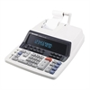 "Sharp Calculators QS1760H Commercial Printing Calculator - Dual Color Print - 4.8 lps - 10 Digits - Fluorescent - Power Adapter Powered - 3"" x 10"" x 13.3"" - Light Gray - 1 Each"