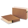"Business Source Accordion Expanding File Pocket - Legal - 8 1/2"" x 14"" Sheet Size - 3 1/2"" Expansion - Redrope - Redrope - Recycled - 25 / Box"