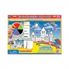 The Board Dudes SpinnerZ Dry-erase Learning Mat - Theme/Subject: Learning - Skill Learning: Color, Shape, Writing