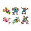 "Frog-tastic Classic Accents Variety Pack - 5.50"" Height - Assorted - 36 / Pack"