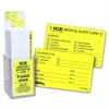 Tabbies Acrylic Emergency Information Card Display - 150 / Display Box