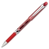 Integra .7mm Premium Gel Ink Stick Pens - 0.7 mm Point Size - Red Gel-based Ink - 1 Dozen