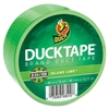 "Duck Brand High-performance Color Duct Tape - 1.88"" Width x 45 ft Length - 1 / Roll - Neon Green"