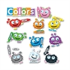 "Fuzzy Bulletin Board Set - 11 Color Critters - 0.06"" Height x 20"" Width x 29.50"" Length - Multicolor - 1 Pack"