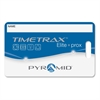 "Pyramid Time Systems TimeTrax Elite Proximity Badges - Proximity Card - 3.50"" Width x 2.50"" Length - 15 - Pack - Blue"