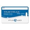 """TimeTrax Proximity Badge 15/pk - Proximity Card - 3.50"""" Width x 2.50"""" Length - 15/Pack - Blue"""