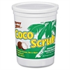 Coco Scrub Indust. Strength Hand Cleaner - Coconut Scent - 3.80 lb - Dirt Remover, Grease Remover, Ink Remover, Oil Remover, Soil Remover, Adhesive Remover, Odor Remover - Hand - White - So