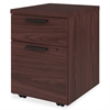 "HON 10500 Series Mobile Pedestal - 15.8"" x 18.9"" x 21.9"" - 2 x Box Drawer(s), File Drawer(s) - Square Edge - Material: Wood - Finish: Laminate, Mahogany"