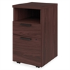 "HON 10500 Series Laminate Desk Furniture - 15.8"" x 18.9"" x 28"" - 2 x Box Drawer(s), File Drawer(s) - 1 Shelve(s) - Square Edge - Material: Wood - Finish: Laminate, Mahogany"