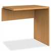 "HON 10700 Series Prestigious Laminate Furniture - 30"" x 20"" x 29.5"" - Waterfall Edge - Material: Hardwood - Finish: Harvest, Laminate"