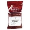 Colombian Supremo Coffee - Regular - Arabica, Colombian Supremo - Light/Mild - 2.5 oz Per Carton - 18 Packet - 18 / Carton