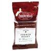 PapaNicholas Coffee French Roast Coffee Ground - Regular - Spicy, French Roast - Dark/Bold - 2.5 oz - 18 / Carton