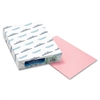 """Colors Colored Paper - Letter - 8.50"""" x 11"""" - 24 lb Basis Weight - Recycled - 30% Recycled Content - 500 / Ream - Pink"""