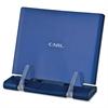 CARL Sleek Tablet Stand - 1 Each - Blue