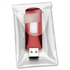 Cardinal Holdit! Clear USB Poly Pocket - Poly - Clear