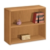 "Laminate Harvest Bookcases - 36"" x 13.1"" x 29.6"" - 2 x Shelf(ves) - 156 lb Load Capacity - Double Radius Edge, Stain Resistant, Scratch Resistant - Harvest - Laminate - Wood - Recycled"