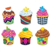 Classic Accents Cupcake Variety Pack - Theme/Subject: Fun - Skill Learning: Counting, Sorting, Graphing, Creativity - 36 Pieces