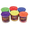 Creativity Street Modeling Dough Class Pack - 6 / Carton - Red, Blue, Yellow, Green, Orange, Purple
