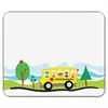 "Carson-Dellosa PreK-5 Self-Adhesive School Bus Name Tags - 3"" Length x 2.50"" Width - Rectangular - 40 / Pack - Assorted"