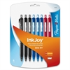 Paper Mate Inkjoy 300 RT Ballpoint Pen - Medium Point Type - 1 mm Point Size - Assorted - Transparent Barrel - 8 / Pack