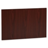 "Lorell Accent Series Mahogany Laminate Modesty Panel - 24.8"" Width x 19.6"" Depth750 mil Thickness - MDF, Metal, Laminate - Mahogany"