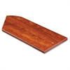 "Desktop Panel System Corner Transaction Top - 36.1"" Width11.8"" Height x 1"" Thickness - Particleboard, Melamine - Cherry"