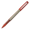 PRECISE BeGreen Precise V5 Rolling Ball Pen - Extra Fine Point Type - Needle Point Style - Refillable - Red - 1 Dozen