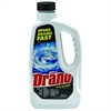 Drano Liquid Clog Remover - Liquid Solution - 0.25 gal (32 fl oz) - 12 / Carton