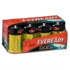 Eveready Gold Alkaline D Batteries - D - Alkaline - 96 / Carton