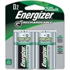Energizer NiMH e2 Rechargeable D Batteries - D - Nickel Metal Hydride (NiMH) - 48 / Carton