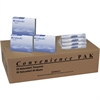 Dual Vendor Hygiene Dispsr Convenience Pak - Individually Wrapped, Flushable, Anti-leak - 100 / Carton
