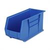 """Akro-Mils AkroBin - 9"""" Height x 8.3"""" Width x 18"""" Depth - Rack-mountable - Blue - Polymer - 1Each"""