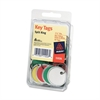 Key Tag - Metal - 50 / Pack - Assorted
