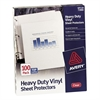 "Avery Top Load Vinyl Sheet Protector - 50 x Sheet Capacity - For Legal 8.50"" x 14"" Sheet - Clear - Vinyl - 50 / Box"