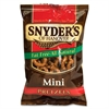 Snyder's of Hanover Fat Free Mini Pretzels - Fat-free - Salty - 30 / Box