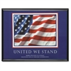 "Advantus United We Stand Framed Print - 30"" Width x 24"" Height - Black Frame"