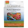 "Conserve PlastiBands - 2.12"" Length - Latex-free - 200 / Box - Polyurethane - Assorted"