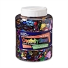ChenilleKraft Sequins/Spangles Asstmt Shaker Jar - 1 Each - Assorted