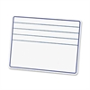 "ChenilleKraft Ruled Dry-Erase Board with Lines - 12"" (1 ft) Width x 9"" (0.8 ft) Height - Rectangle - 1 Each"