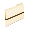 "Pendaflex File Pocket with Tab - Legal - 8.50"" x 14"" Sheet Size - 1"" Expansion - 2/5 Tab Cut - Manila - Recycled - 50 / Box"