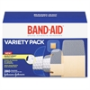 Band-Aid Variety Pack Adhesive Bandages - 280/Box - White