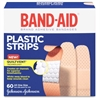 "Band-Aid Plastic Strips Adhesive Bandages - 0.75"" - 60/Box - Tan"
