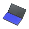 "CLI Stamp Pad - 1 Each - 2.8"" Width x 4.3"" Length - Foam Pad - Blue Ink"