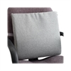 "Seat/Back Chair Cushion - Washable - Hook Mount - 17.5"" x 2.8"" x 17"" - Gray"