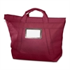 "MMF Fire Guard Locking Courier Bag - 18"" Width x 18"" Length - 7"" Gusset - Burgundy - Cordura Plus - 1Each - Mailing"