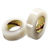 """Stretchable Tape - 1.41"""" Width x 60 yd Length - Polyethylene - Synthetic Rubber Backing - Flexible, Stretchable - 1 / Roll - Clear"""