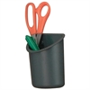 "OIC Verticalmate Pencil Cup - 5"" x 4.3"" x 2.5"" - Plastic - 1 Each - Slate Gray"
