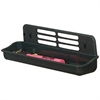 "OIC Verticalmate Large Utility Tray - 3.4"" Height x 12"" Width x 3"" Depth - Desktop - Slate Gray - Plastic - 1Each"